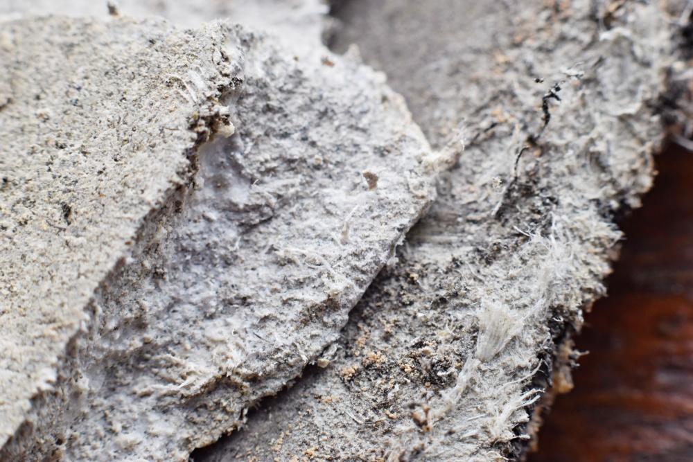 poeira de amianto