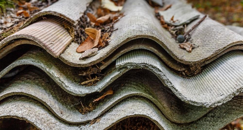 telha de amianto
