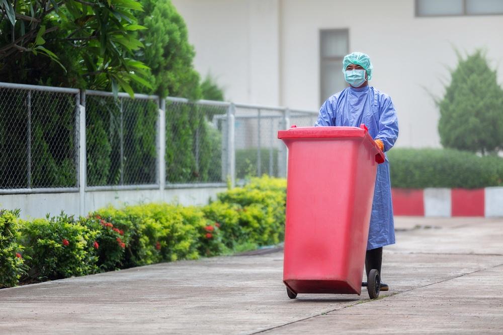 descarte de lixo hospitalar