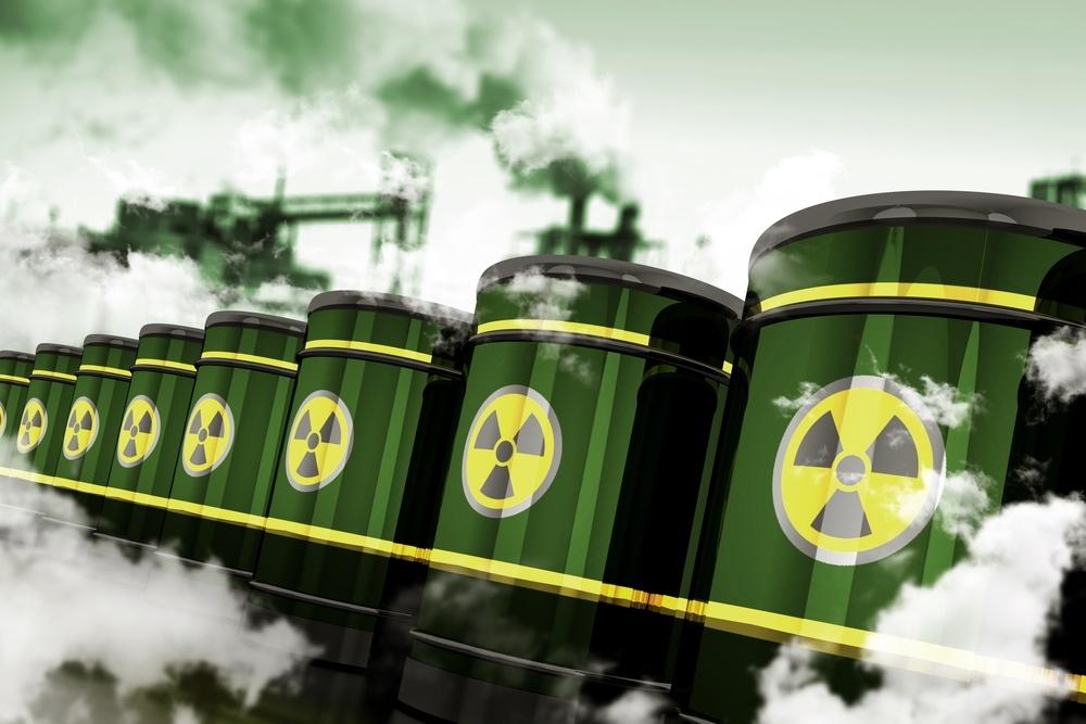 o que é poluição radioativa