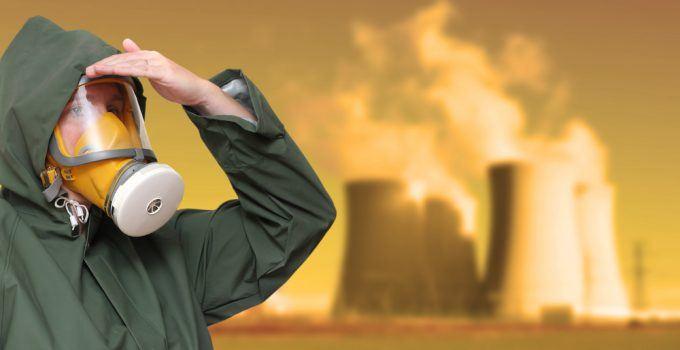 poluição radioativa